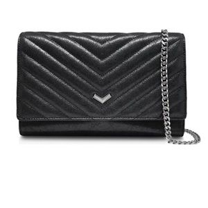 Botkier Soho Quilted Leather Chain Wallet